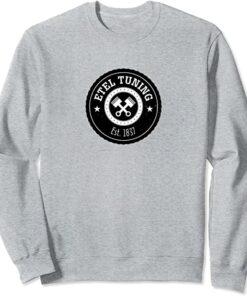 Etel-Tuning Sweatshirt Hellgrau Meliert